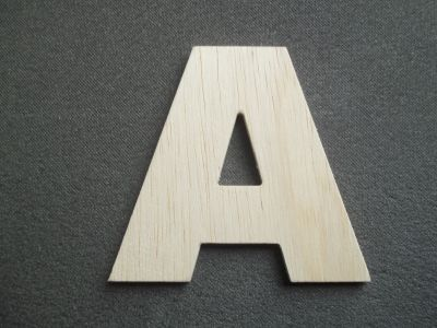lettre bois hauteur 45 cm lettre bois mod le arial black. Black Bedroom Furniture Sets. Home Design Ideas