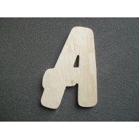 Lettre bois modèle BALLOON