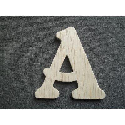 Lettre bois modèle BELSHAW