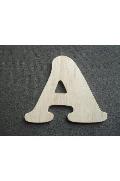 Lettre bois modèle ZEN
