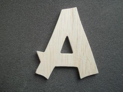 lettre bois hauteur 15 cm : lettre bois modèle cancun