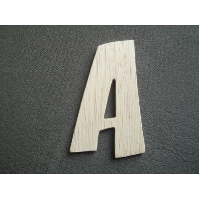 Lettre bois modèle CARTOON