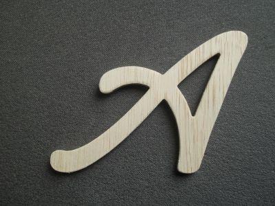lettre bois hauteur 20 cm lettre bois mod le cool. Black Bedroom Furniture Sets. Home Design Ideas