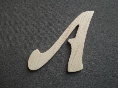 Lettre bois hauteur 10 cm lettre bois mod le funny - Lettre decorative en bois ...