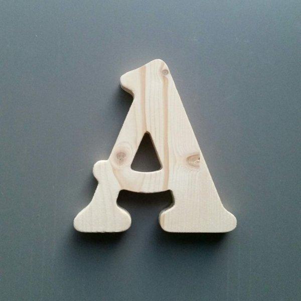 Lettre en bois épicéa BELSHAW