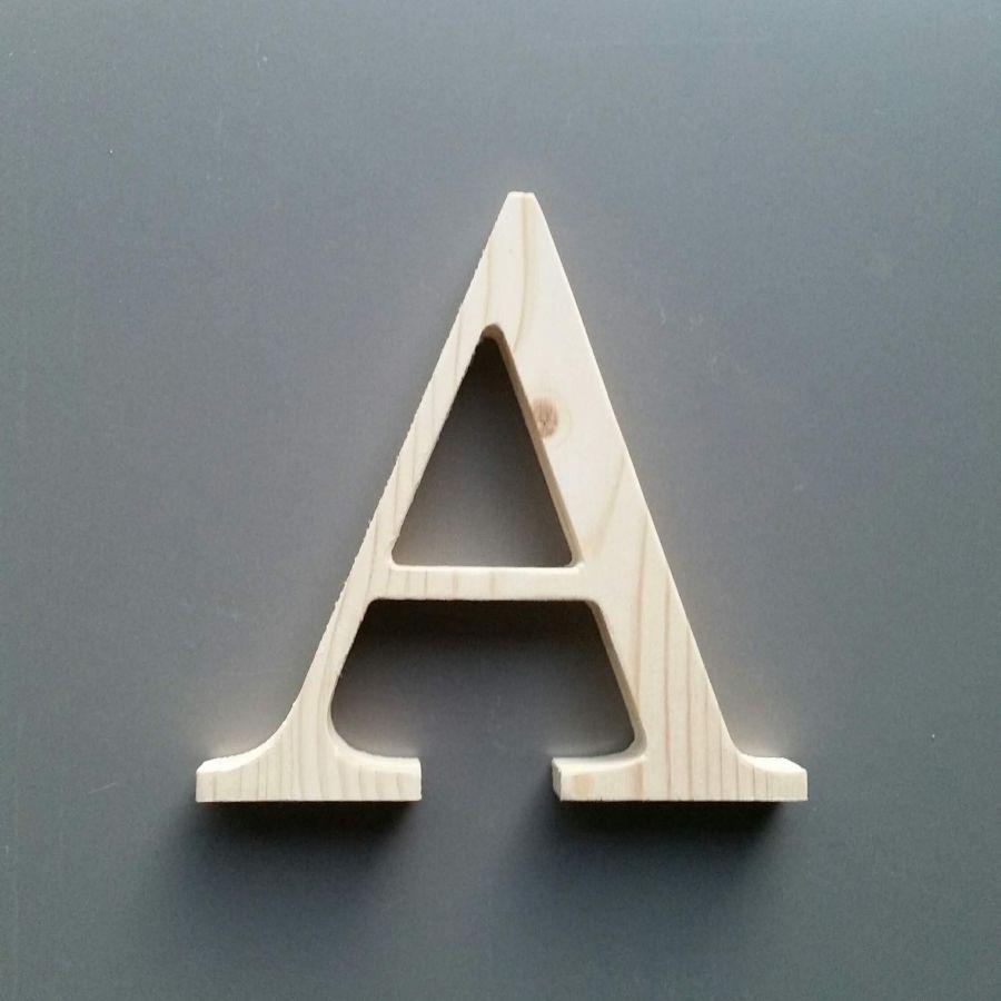 Lettre en bois épicéa CENTURY