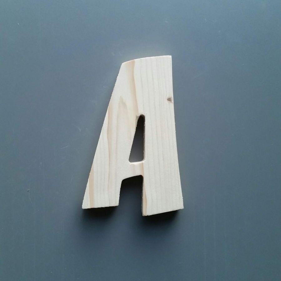 Lettre en bois épicéa ZOINKS