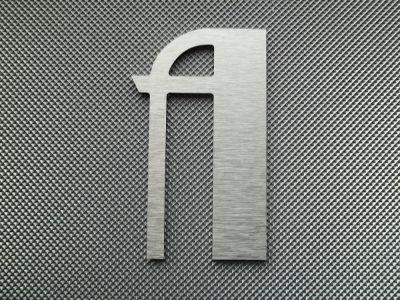 Lettre DIBOND alu brossé