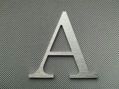 Lettre Enseigne Métal Alu Brossé CENTURY