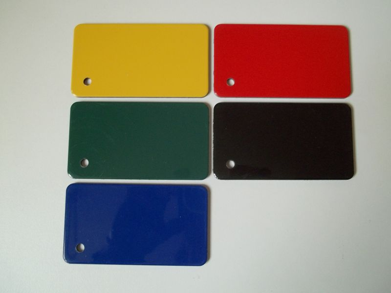 Lettre DIBOND couleur
