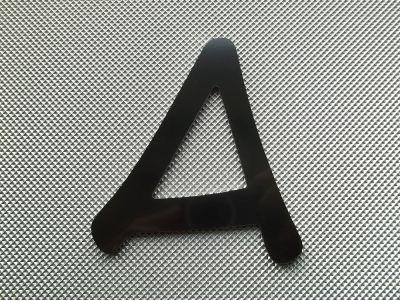 Lettre enseigne métal alu ANME ACE