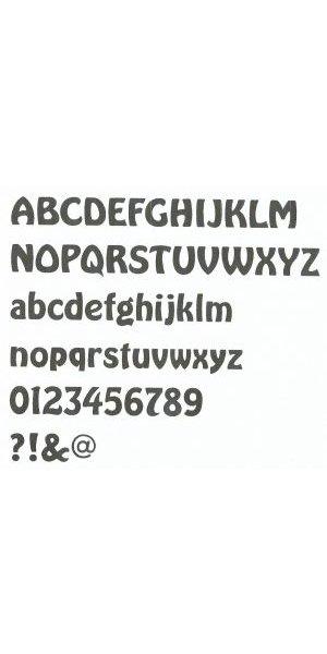 Lettre enseigne zinc BUBBLE