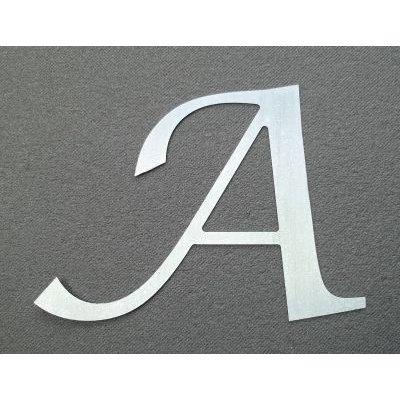 Lettre enseigne zinc LUCIDA CALLIGRAPHY