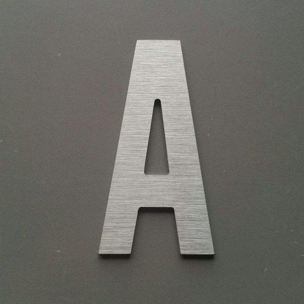 Lettre metal brossé ALTERNATE GOTHIC