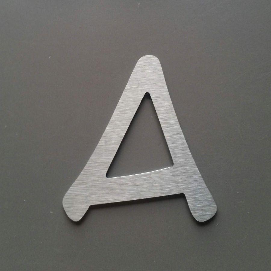 Lettre metal brossé ANIME ACE
