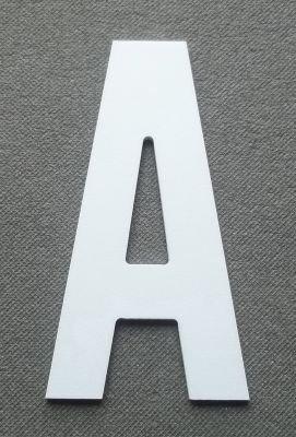 Lettre plastique PVC BATON