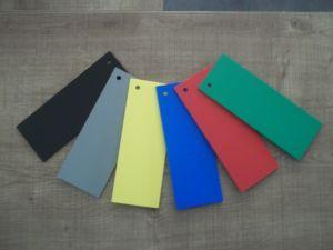 Lettre plastique PVC couleur BERNARD CONDENSED