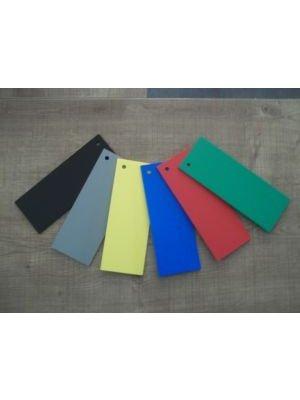 Lettre plastique PVC couleur ARIAL BLACK