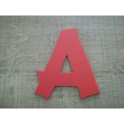 Lettre plastique PVC couleur CANCUN