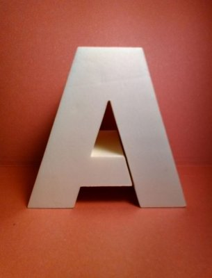 Lettre en polystyrène ARIAL BLACK