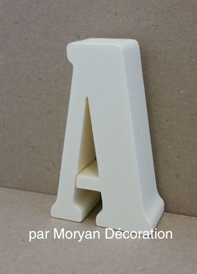 Lettre en polystyrène BERNARD CONDENSED
