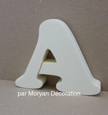 Lettre en polystyrène COOPER BLACK