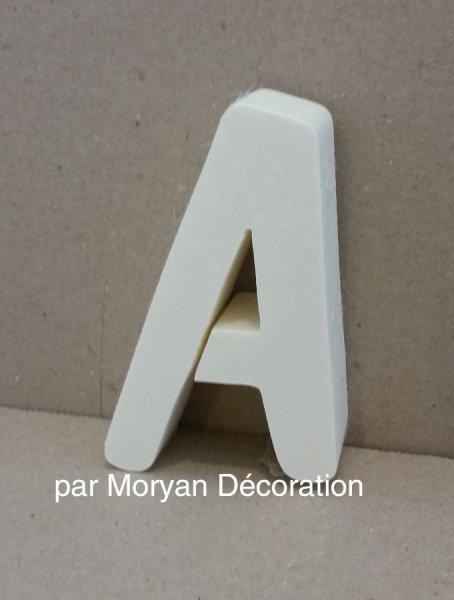 Lettre en polystyrène DOM CASUAL