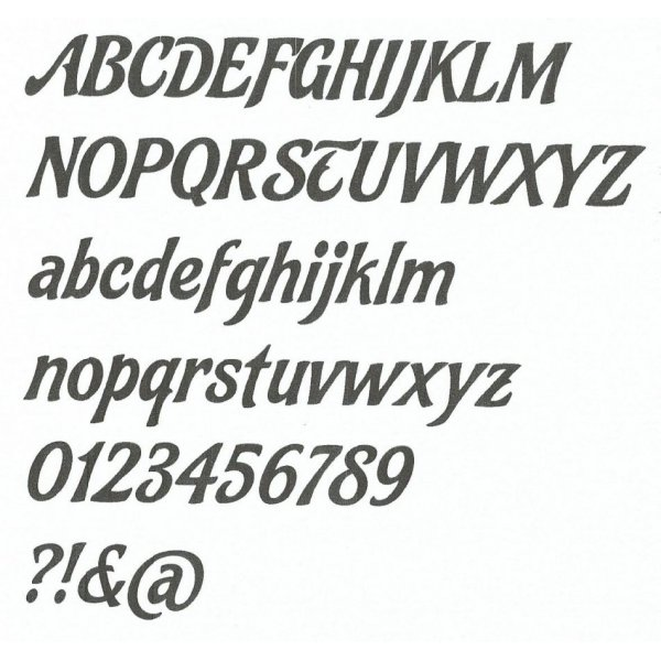 Lettre en polystyrène FELIPE