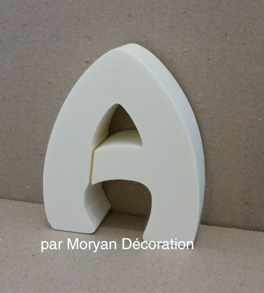 Lettre en polystyrène HARLEQUIN