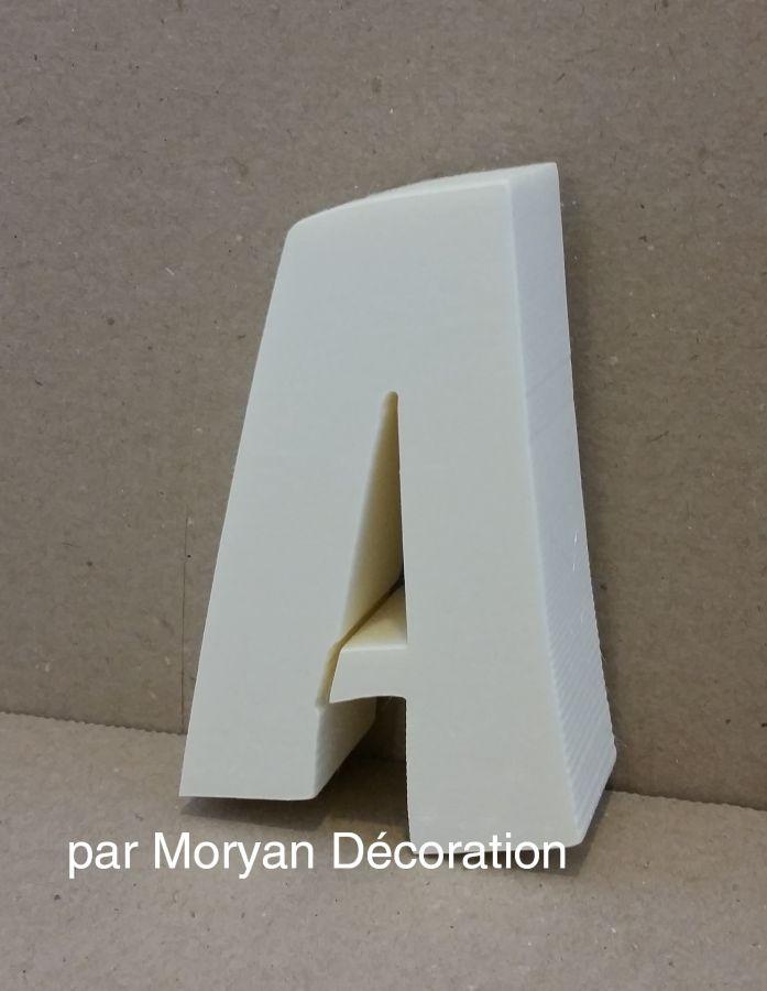 Lettre en polystyrène ZOINKS