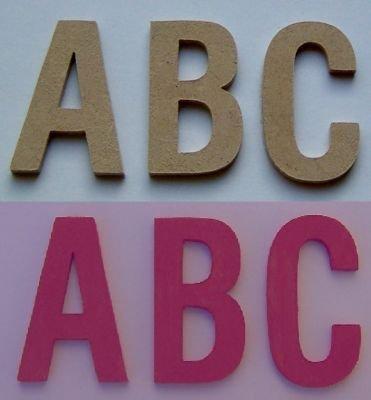 Lettre bois hauteur 5 cm lettres bois mod le baton - Lettres en bois a peindre ...