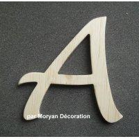 Letttre bois modèle DULCE
