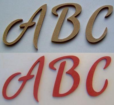lettre bois hauteur 15 cm :lettre bois modèle romantic