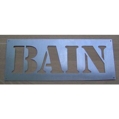 Pochoir BAIN