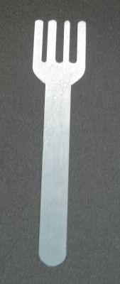 Sticker métal FOURCHETTE