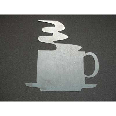 Sticker métal Tasse
