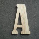 Lettre en bois modèle SLIMLOFT