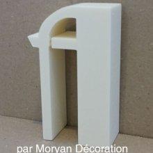 Lettre en polystyrène BETTY