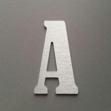 Lettre metal brossé BERNARD CONDENSED
