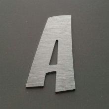 Lettre metal brossé ZOINKS