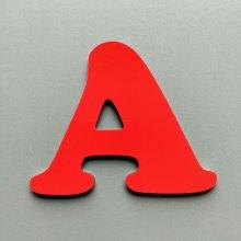 Lettre enseigne métal alu COOPER BLACK