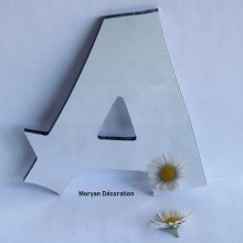 Lettre miroir murale decorative CANCUN