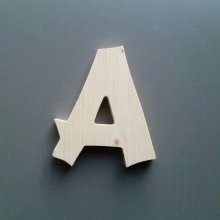 Lettre en bois épicéa CANCUN