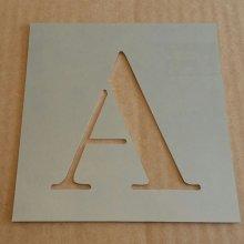 Pochoir lettre métal zinc modèle CENTURY