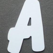 Lettre plastique PVC BALLOON