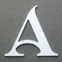 Lettre plastique PVC SHANGRI LA