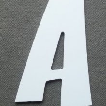 Lettre plastique PVC ZOINKS
