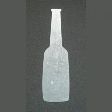 Sticker métal BOUTEILLE
